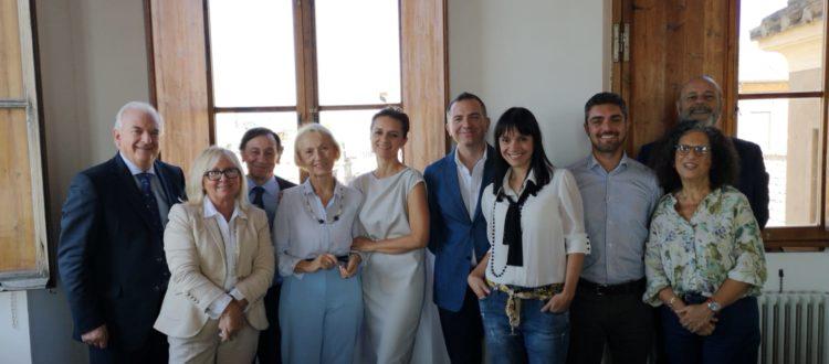 Foto di gruppo del nuovo board di EU Consult dopo le nomine del 18 ottobre 2018